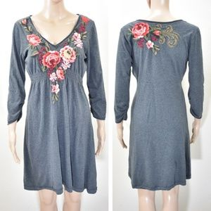 Johnny Was Joy Love Light Embroidered Dress